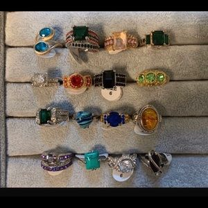 Today only! 16 new sterling/GF size 6